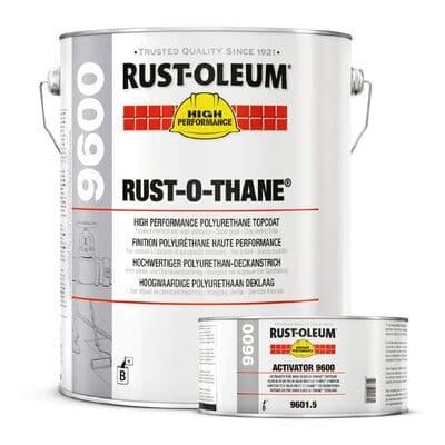 Rust-Oleum 9600 Rust-O-Thane Ba Blue – Set + Verharder